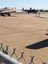B-24 arrives
