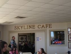 Skyline Cafe with runway views