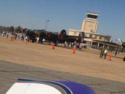 B-24 on the tarmac