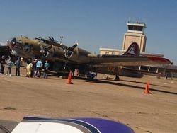 B-17 on the tarmac