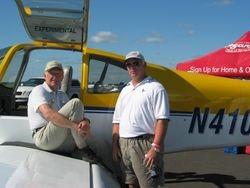 Dick VanGrunsven and Bill Gipson