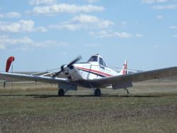 the Soaring Club's tow plane