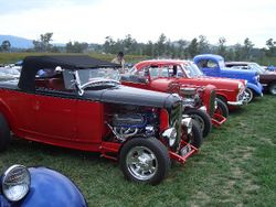Colin Whytes 32 Ford Roadster