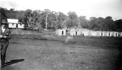 1923 photograph hostel camp