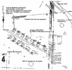 Howie's Settlement 1926 map