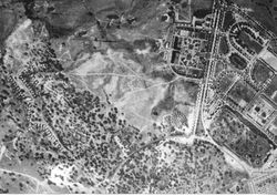 Aerial photograph 1940s
