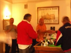 Prize presentation at the Hurst 2010