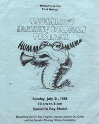 Sausalito Humming ToadFish Festival