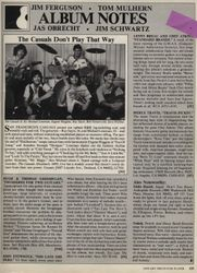 Guitar Player Magazine Review, The Casuals Album