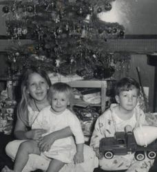 Christmas Morning when I was still young