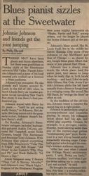 Johhny Johnson Review in the Examiner