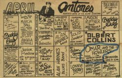Antone's Calendar