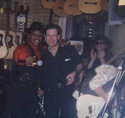 John Lee Hooker Jr. & Me