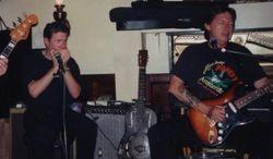 Ron Hacker & Me at the No Name Bar