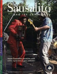 Cover of Sausalito Magazine with Curtiss Lawson & Andy Mazilli