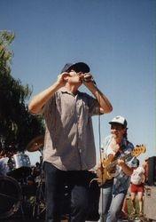 Me & Steve Webber, 4th July Sausalito