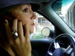 Cell phone ear implant