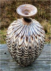 Agate vase