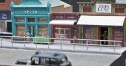 Overbridge shops.