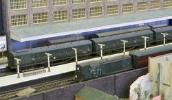 Close up of class 15 and ex-LMS EMU