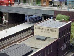 Overbridge area