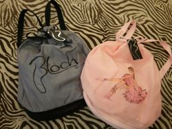 Gray Bloch Bag