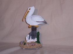 Miniature White Pelican