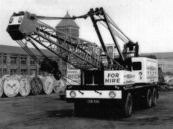 Edward Beck & Son Ltd Coles Dominant 15 ton mobile crane.