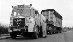 Edward Beck & Son Ltd S20 Foden 6x4 ballast tractor Reg No ODB 793 'The Big Bopper'