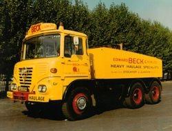 Edward Beck & Son Ltd Foden S40 6x4 ballast tractor Reg No OJA 859H