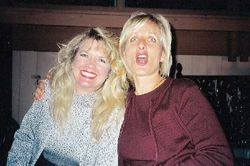 Karen Finneran and Cathy Nece-Thomas