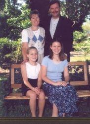 Frank & Marilou Johns & daughters