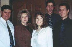 Albert & Sharon Ramirez & family