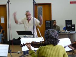 Conducting and recording vew