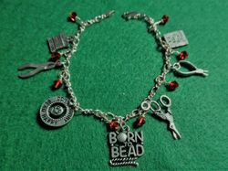 Born to Bead Charm Bracelet