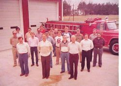 Members of Elgin VFD 1981