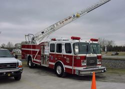 Ladder 644 - E-One 75' Ladder