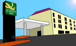 Quality Inn vector