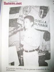 El Lic. Joel Peña