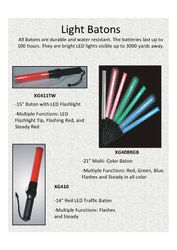 Contact your distributor about buying traffic batons.
