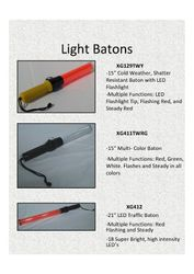 Contact your distributor about buying  traffic batons