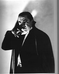 And again as Count Dracula!