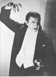 Classic Count Dracula Pose...