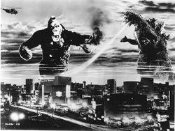 """King Kong vs. Godzilla,"" 1962."