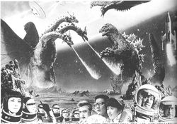 """Monster Zero,"" 1965."