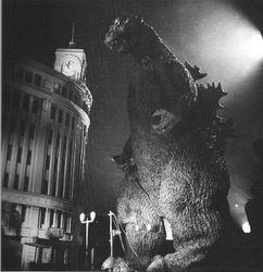 """""""Godzilla,"""" 1954."""