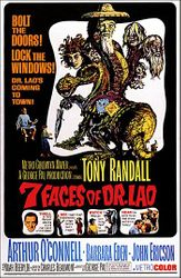 """""""7 Faces of Dr. Lao,"""" MGM (1964)"""