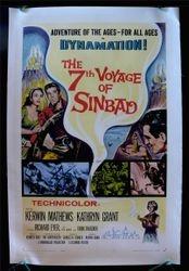 """The 7th Voyage of Sinbad,"" Columbia, 1958."