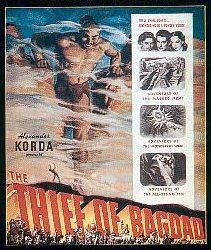 """""""Thief of Baghdad,"""" London Film Productions, 1940."""