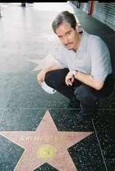 Me and Raymond Burr's Hollywood Star!